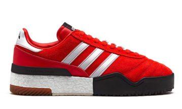 alexander wang adidas red