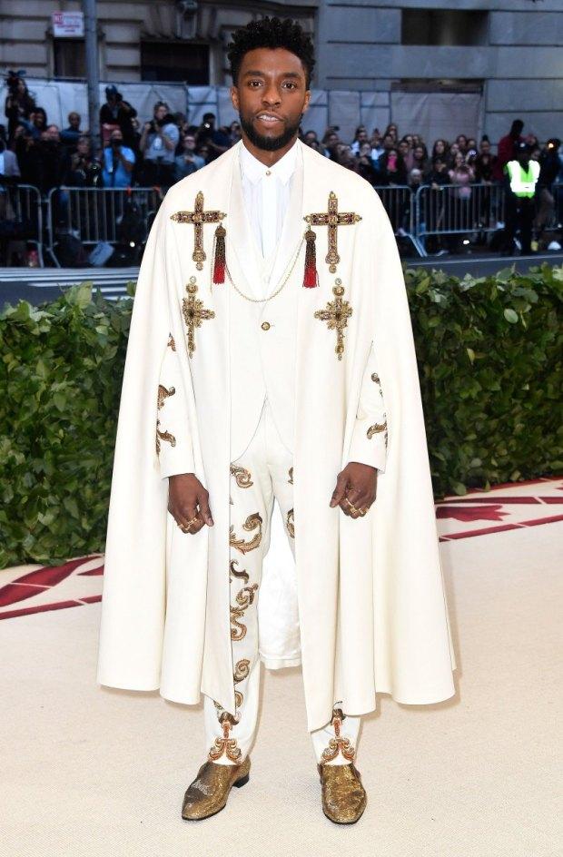 Chadwick Boseman - Versace