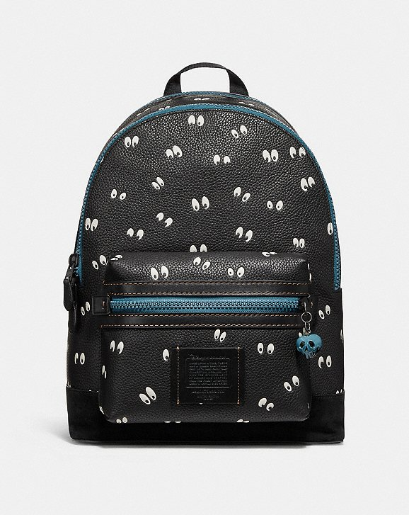 Disney X Coach Academy Backpack - Spooky Eyes Print